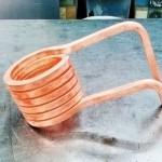 銅パイプ巻き加工