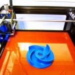 3Dプリンタ導入   試作例インペラー