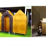 月灯りの移動劇場 おもちゃ箱(舞台美術)