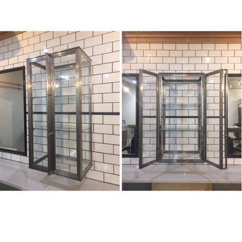 ガラスショーケース - 愛知県名古屋市で金属加工の有限会社ニーズ工業製作