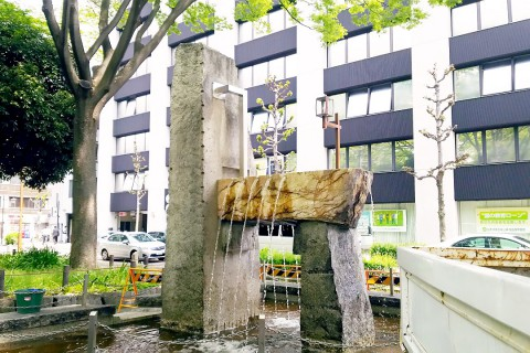 下園公園 噴水設備
