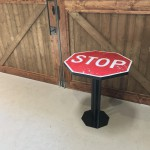 STOP SIGN COFFEE TABLE(デザイナーズコンセプトテーブル)
