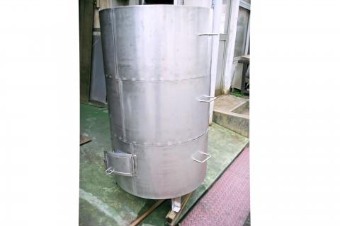 三段燻製タンク