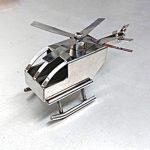 メタルヘリコプター (ステンレス製のおもちゃ)