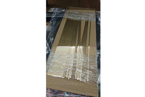 鉄道模型・枕バネ用真鍮板