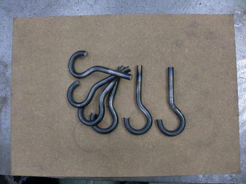 丸棒フック(S45C) - 愛知県名古屋市で金属加工の有限会社ニーズ工業製作