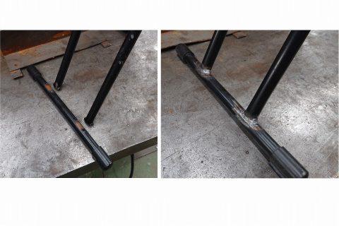 折りたたみ椅子修理